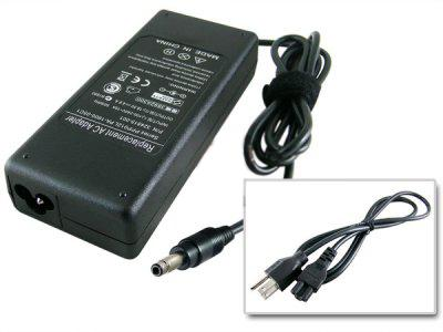Gateway Laptop AC Adapter 18.5V 4.9A Bullet Connector