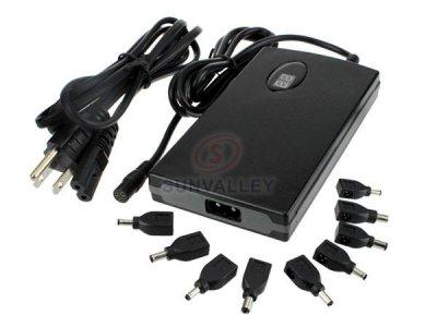 Acer Universal Laptop AC Adapter 9 Tips 2-Prong US Version with 5V USB Port